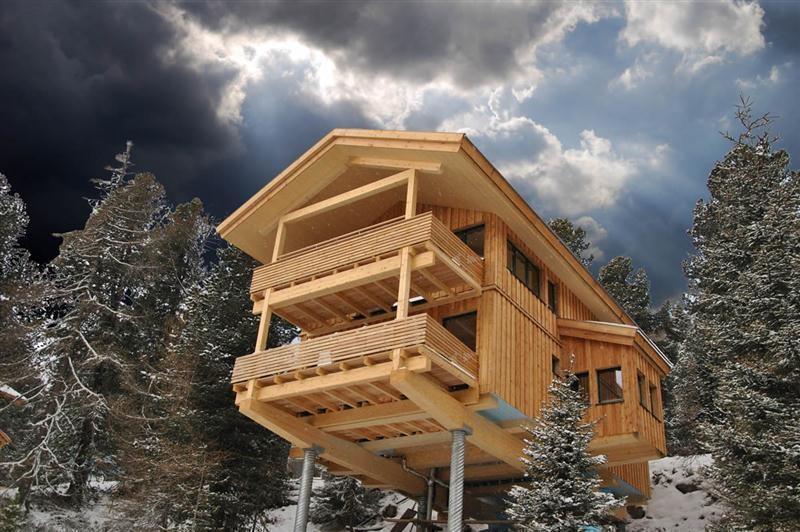 Ferienwohnung waldhaus ski blick in turracher h he for Turracher hohe skigebiet